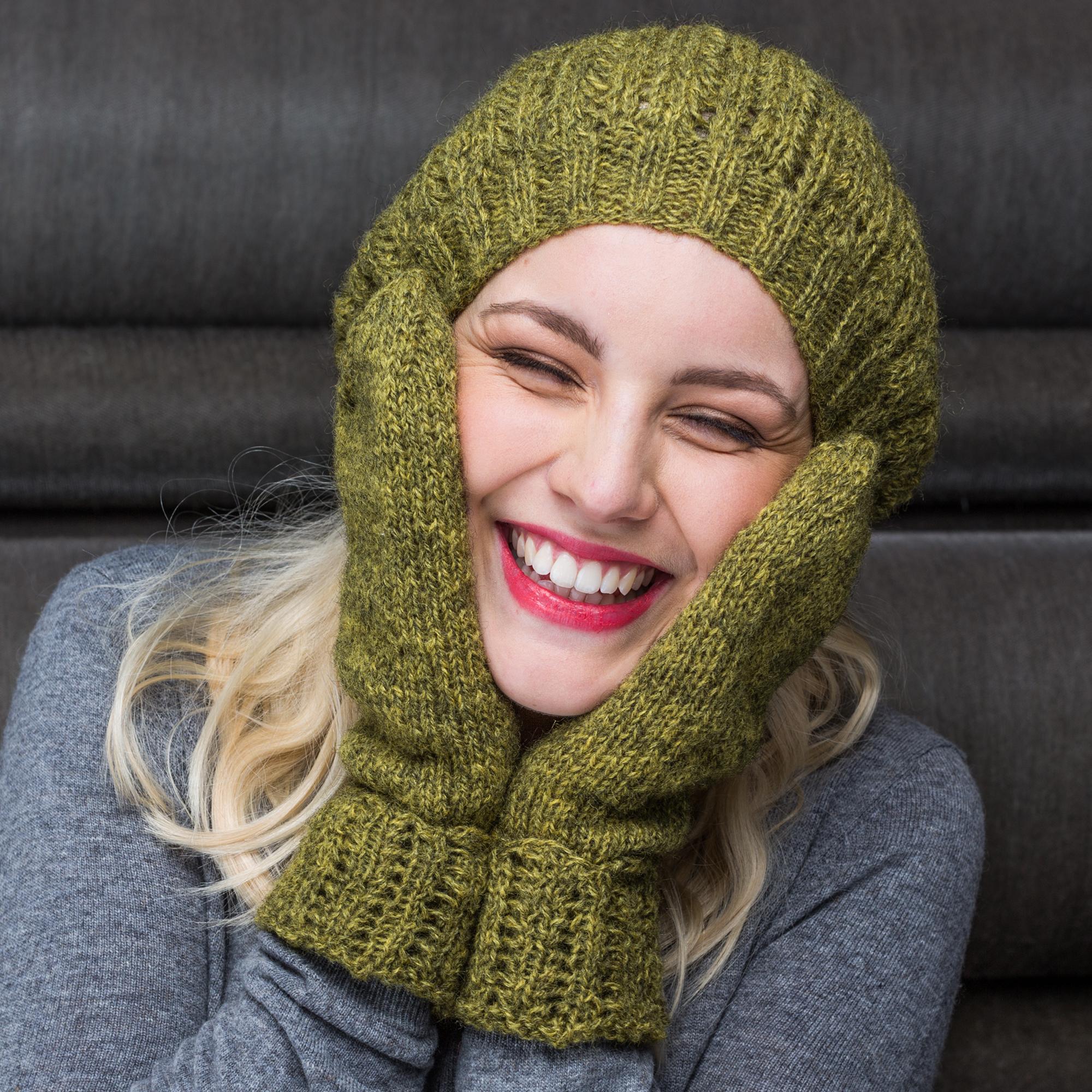 Luer, sjal og votter