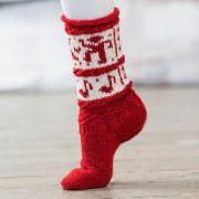 Sokkedans rød 1