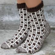 Gla sokka brune