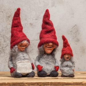 Røde nisser til jul