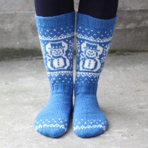 Snømann sokk - til nett 2000 x 2000