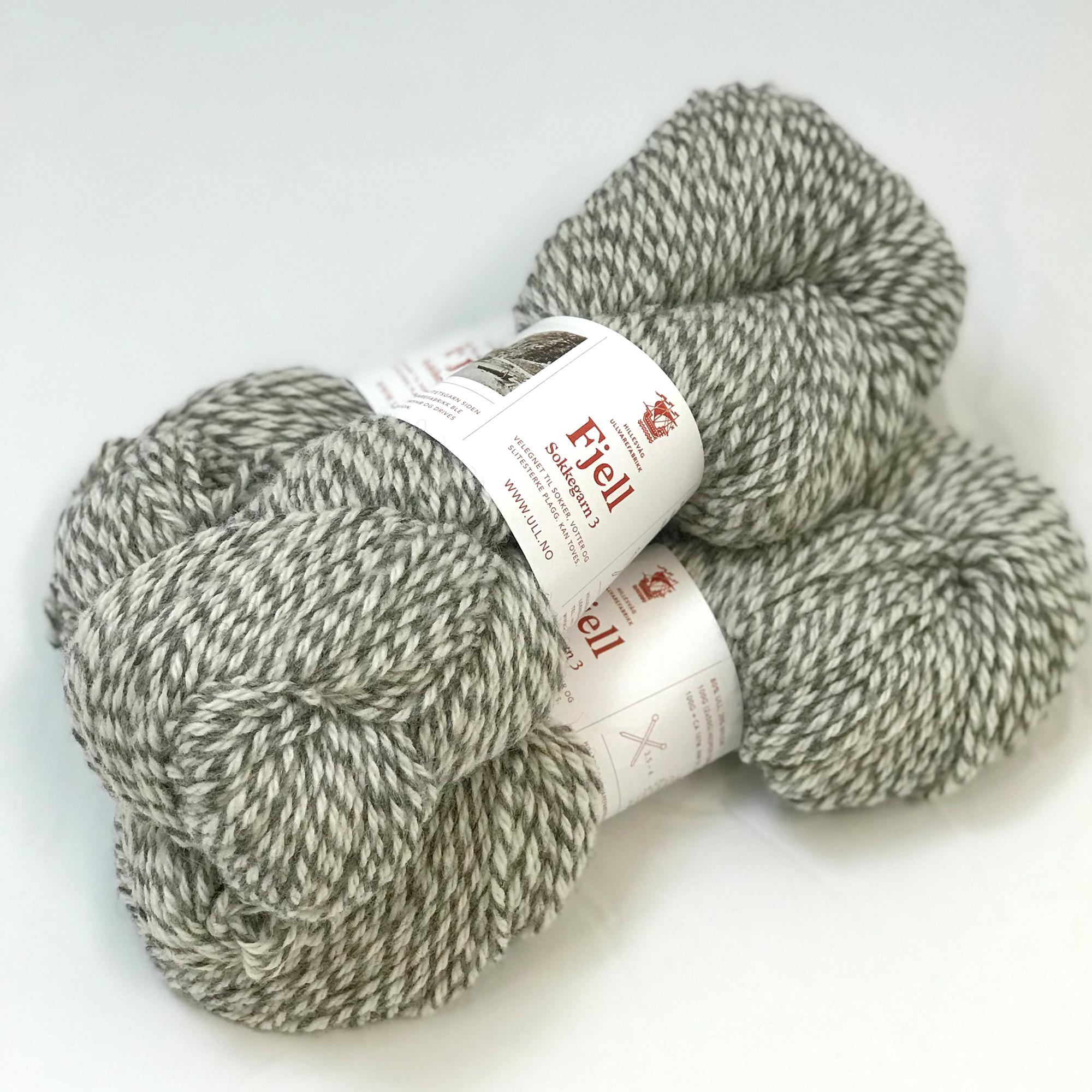 Fjell sokkegarn