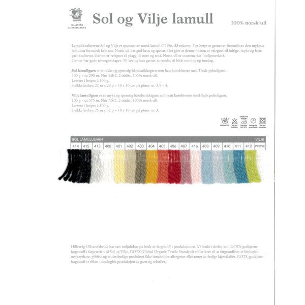 fargekart