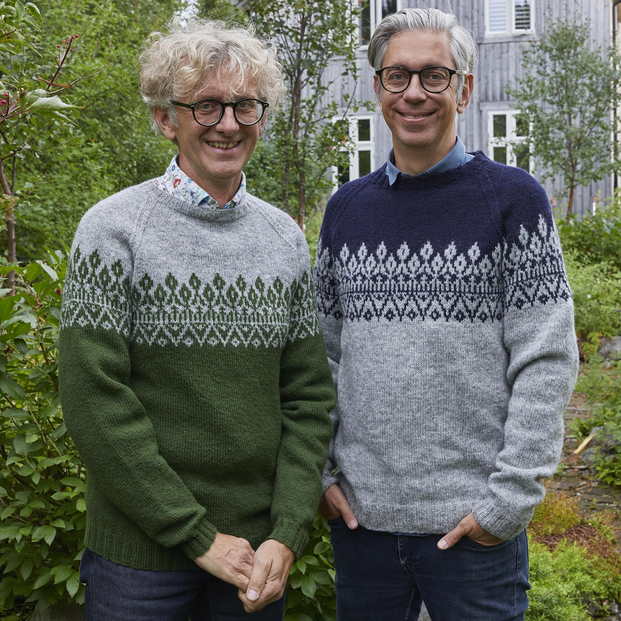 Redd Barna strikk - Arne & Carlos