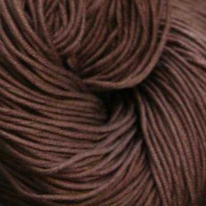 Luxor Bomullsgarn, mørk brun
