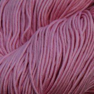 Luxor Bomullsgarn, støvet rosa