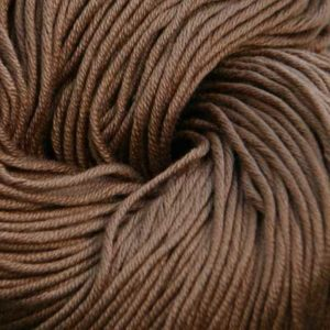Luxor Bomullsgarn, lys sjokoladebrun