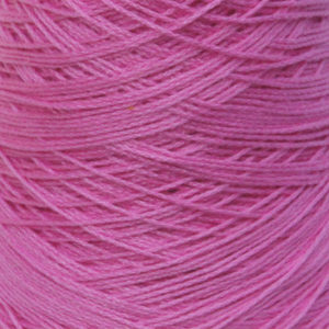 Perle Bomullsgarn, skarp rosa