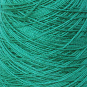 Perle Bomullsgarn, blågrønn