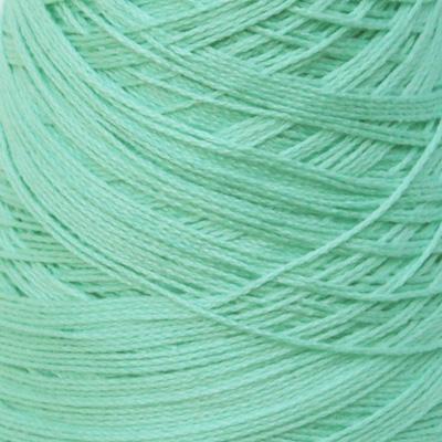 Perle Bomullsgarn, lys turkisgrønn