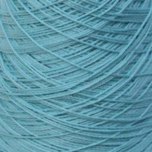 Perle Bomullsgarn, lys turkisblå