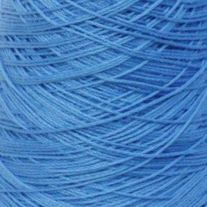 Perle Bomullsgarn, mellomblå