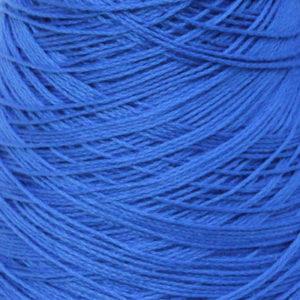 Perle Bomullsgarn, ren blå