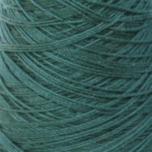 Perle Bomullsgarn, mørk blågrønn