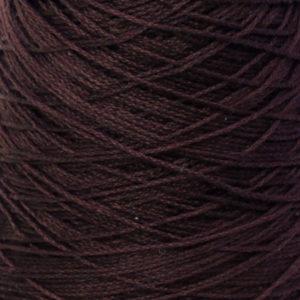 Perle Bomullsgarn, mørk brun