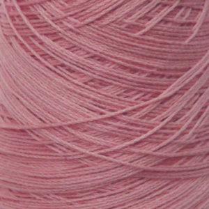 Perle Bomullsgarn, støvet rosa