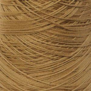 Perle Bomullsgarn, lys gyllenbrun