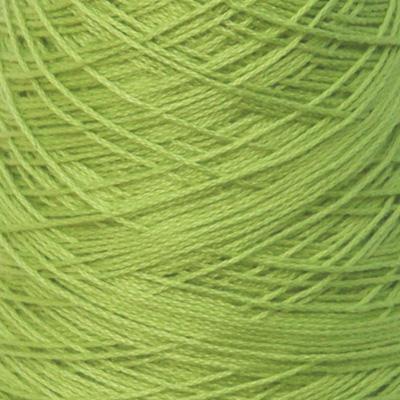 Perle Bomullsgarn, gulgrønn