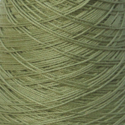 Perle Bomullsgarn, grønn kaki