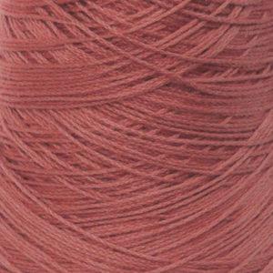 Perle Bomullsgarn, mørk korallrosa