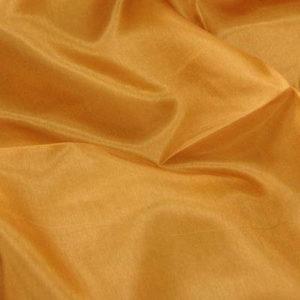 Pongee silke, lys cognac(glatt) 2 m