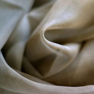 Silkechiffon, mellombrun (krepp) 2 m