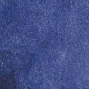 Kardet ull, mellomblå