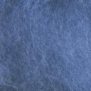 Kardet ull, dongeriblå