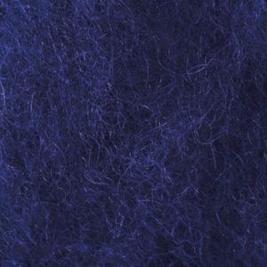 Kardet ull, kongeblå