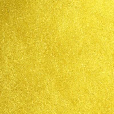 Kardet ull, gul