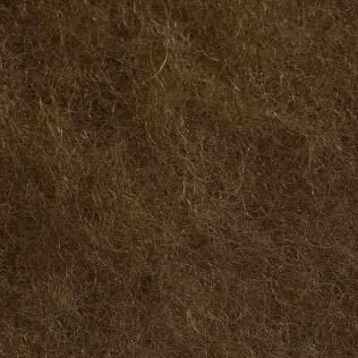 Kardet ull, lys sjokoladebrun