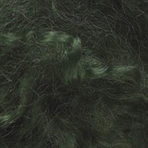 Farget Pelsull, grønn