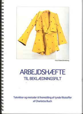 Arbejdshæfte til beklædningsfilt - Charlotte Buch