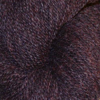 Ask -  Hifa 2 Ullgarn, melert mørk brun