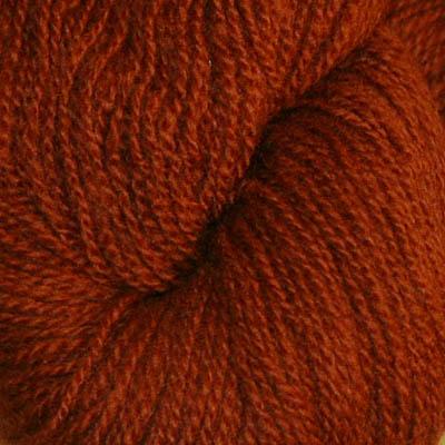 Embla - Hifa 3 Ullgarn, rødbrun