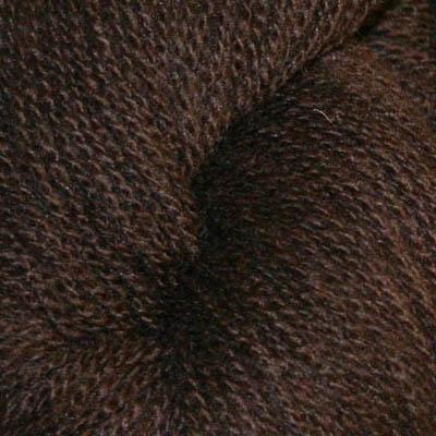 Embla - Hifa 3 Ullgarn, mørk brun