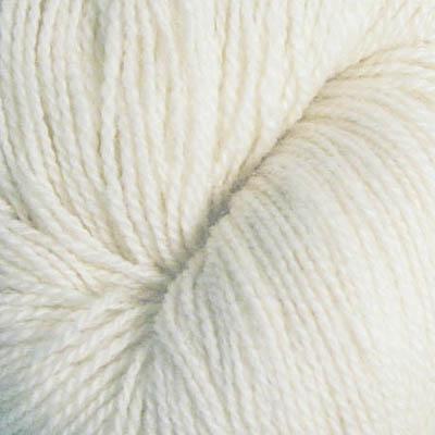 Embla - Hifa 3 Ullgarn, halvbleket hvit