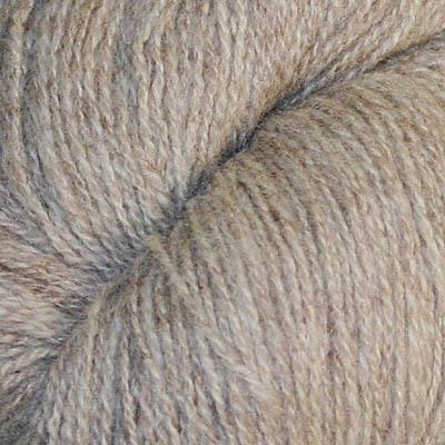 Embla - Hifa 3 Ullgarn, melert lys brun