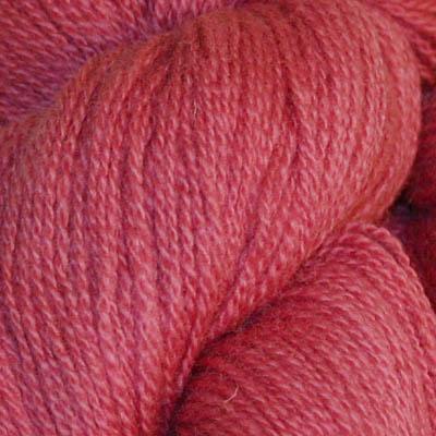 Embla - Hifa 3 Ullgarn, støvet mørk rosa