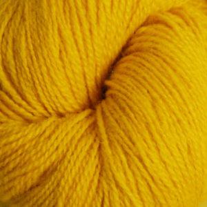 Embla - Hifa 3 Ullgarn, brunlig lys gul