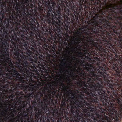 Embla - Hifa 3 Ullgarn, melert mørk brun