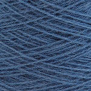 Ask - Hifa 2 Ullgarn, mellomblå - spolt