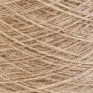 Ask - Hifa 2 Ullgarn, melert lys brun - spolt