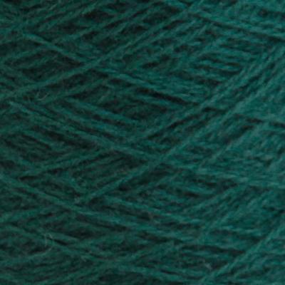Ask - Hifa 2 Ullgarn, mørk blålig grønn - spolt