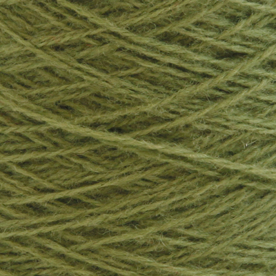 Ask - Hifa 2 Ullgarn, olivengrønn - spolt