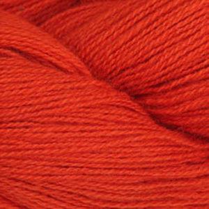 Frid - Vevgarn tynt, oransjerød