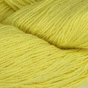 Frid - Vevgarn tynt, lys, ren gul