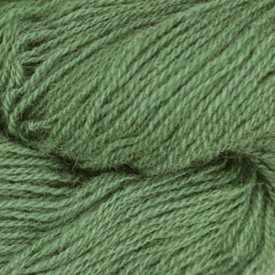 Frid - Vevgarn tynt, støvet kald grønn