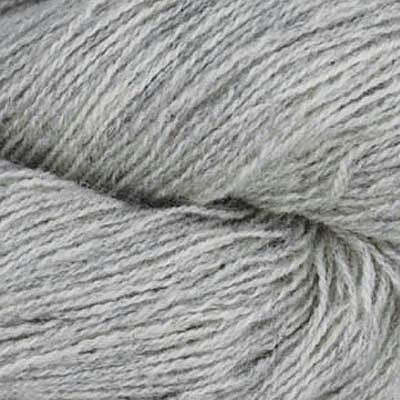 Frid - Vevgarn tynt, lys gråmelert