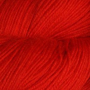 Hjerte - Superwash 12/4, klar ren rød